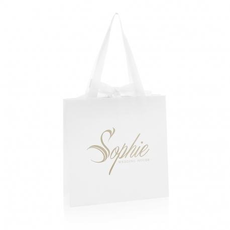 Bespoke Printed Wedding Carrier Bag Ref Sophie