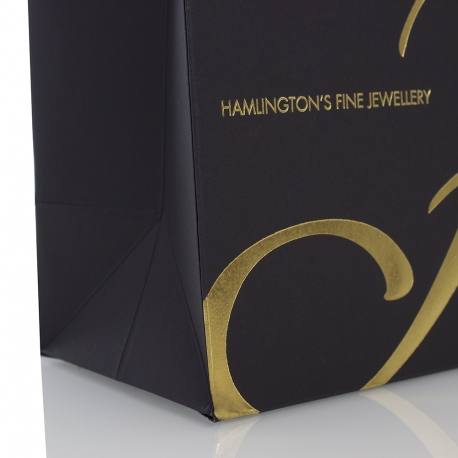 Luxury Bespoke Jewellery Gift Bags Ref Hamlington's
