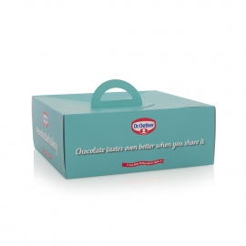 Pantone Matched Fold Flat Cakebox Ref. Dr Oetker