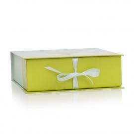 Yum Yum Tree Fudge Custom Printed Ribbon Sealed Paper Boxes