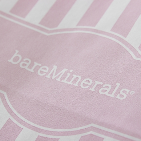 Bespoke Printed Handless Paper Make Up Bag Ref Bare Minerals