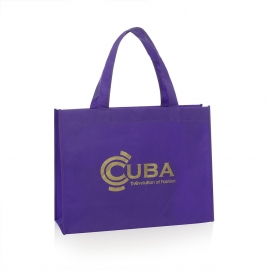 Non-Woven Gold Pantone Carrier Bag Ref. Cuba