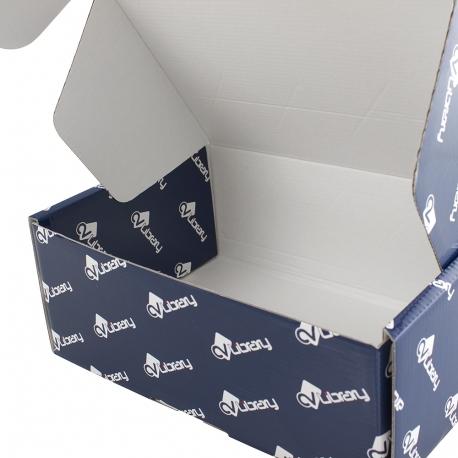 Gloss Laminated Corrugated Mailing box Ref. CV Library