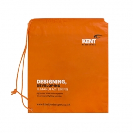Plastic Drawstring Bag Ref Kent Periscopes