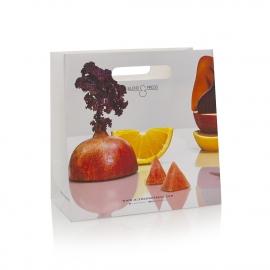 Die Cut Handle Luxury Paper Bag Ref Blend & Press
