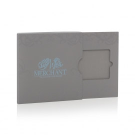 Bespoke Luxury Gift card Boxes with Spot UV - ref. Merchant