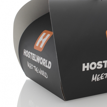 Bespoke Printed Cookie Box Carrier Ref Hostelworld