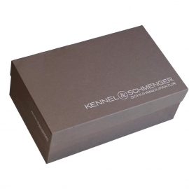 Printed Shoe Boxes With Hot Foil Stamping – Ref. Kennel & Schmengar