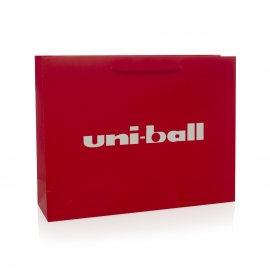 Luxury Matt Laminated Paper Bag Ref Uniball