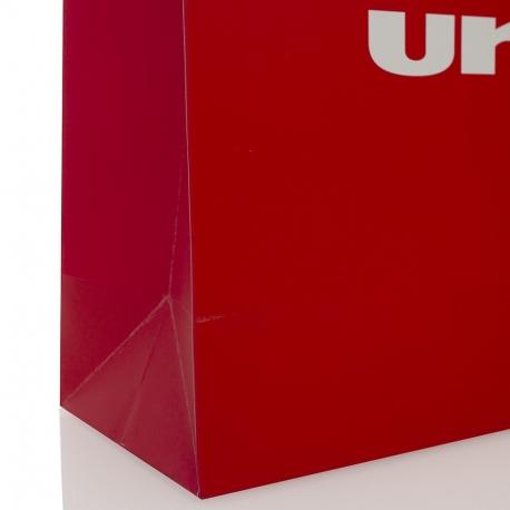 Luxury Matt Laminated Paper Bag ref Uniball