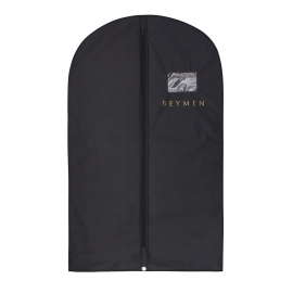 Non-Woven PP Suit carrier with Gold Foil ref Beymen