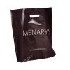 LDPE Polythene Patch Handle Carrier Bags