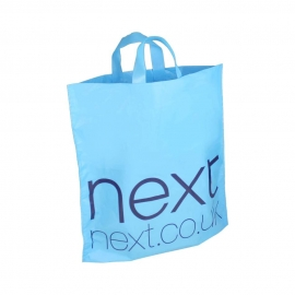 Printed HDPE Flexi Loop Bags With Matt Finish – Ref. Next