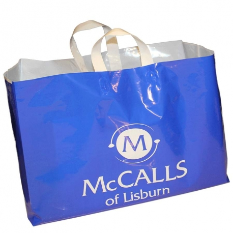 LDPE Flexi Loop Handle Carrier Bags McCalls