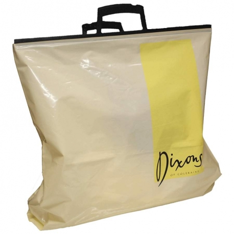 LDPE Clip Handle Carrier Bags Dixons