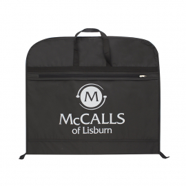 Printed PEVA Non-Woven Mix Suit Bags - Navy Suit Bags - Ref. McCalls