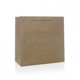 Uncoated Kraft Paper Bags - Ref. The Restory