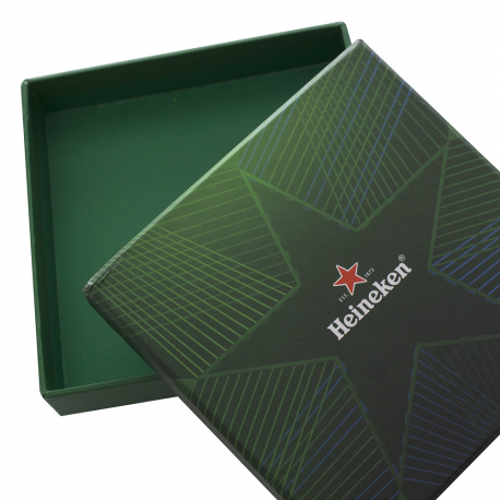 1200x Bespoke printed two piece boxes - 10x10x2cm