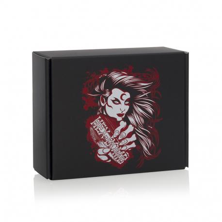 Printed Corrugated Box HEX-001