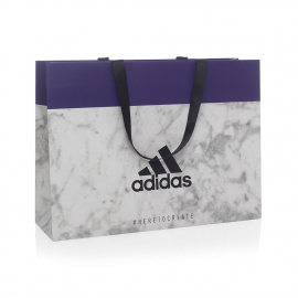 Luxury Ribbon Handle Paper Bags - Ref. Adidas