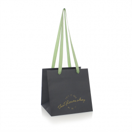 Ribbon Handle Paper Bags - Ref. That Flower Shop