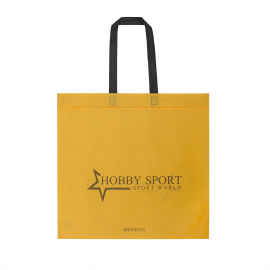 Flat Handle Non-Woven Polypropylene Bag - Ref. Hobby Sport