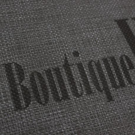 Flat Handle Non-Woven Polypropylene Bag - Ref. Boutique Woman