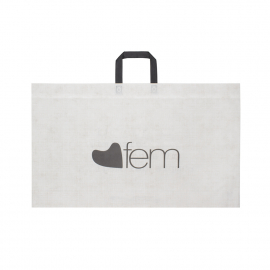 Flat Handle Non-Woven Polypropylene Bag - Ref. Fem