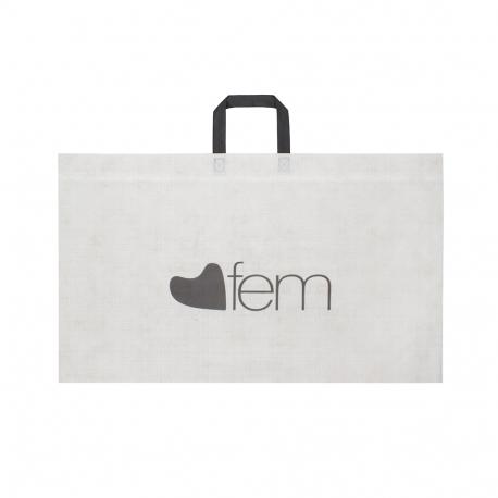 Flat Handle Non-Woven Polypropylene Bag - Ref. Boutique Woman