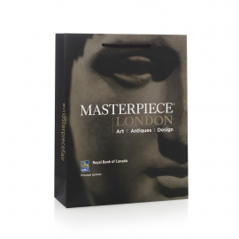 Printed Luxury Laminated Rope Handle Paper Bags - Ref. Masterpiece