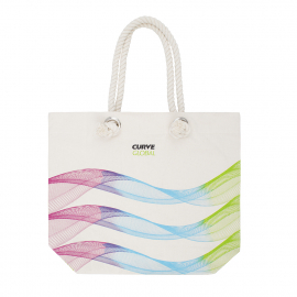 Printed Cotton Canvas Bags Ref Curve Global