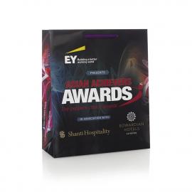 CMYK Print Luxury Gloss Rope Handle Paper Bags - Ref. EY