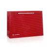 PRINTED PINK LUXURY GLOSS ROPE HANDLE PAPER BAGS - REF. SILK