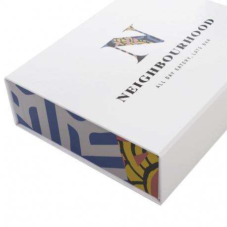 Rigid Card Magnetic Seal Box -JH