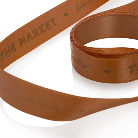 Bespoke Satin Ribbon Ref. Market Larder