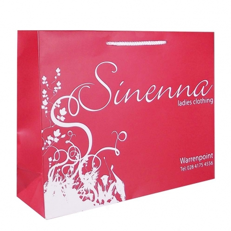 Sinenna Luxury Card Paper Carrier Bags