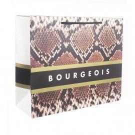 Printed Luxury Matt Rope Handle Bags With Animal Print Design - Ref. Bourgeois