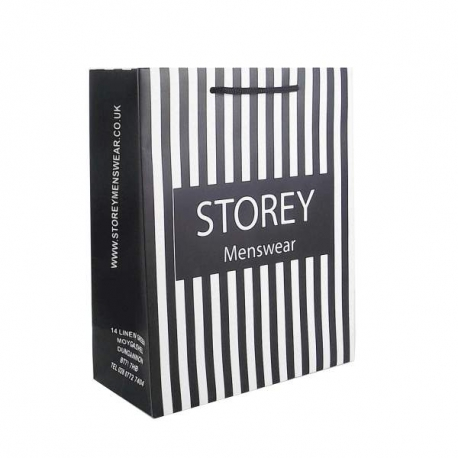 Storey Luxury Card Paper Carrier Bags
