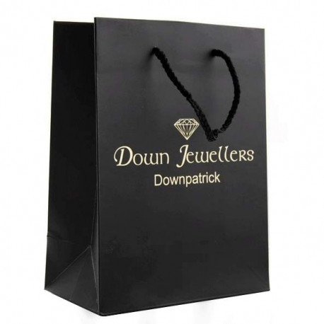 Down Jewellers Luxury Card Paper Carrier Bags