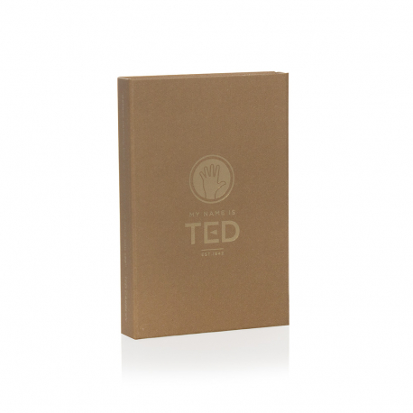 Rigid Card Boxes with Magnetc Seal MY NAME IS TED