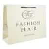 White Kraft Paper Carrier Bags - Ref. Fashion Flair