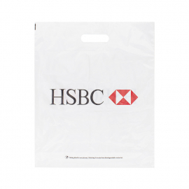 Printed Plastic Carrier Bag Ref HSBC