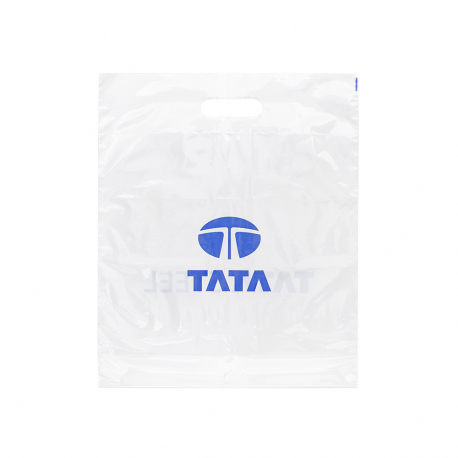 Printed Plastic Carrier Bag Ref Tata