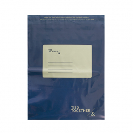 Printed Plastic Mailing Bags Ref Tied Together