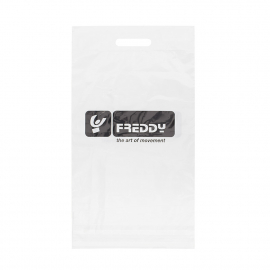 Printed Plastic Carrier Bag Ref Freddy