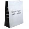 White Kraft Paper Carrier Bags - Ref. Robert Gault
