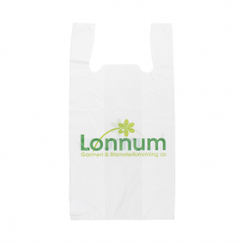 Printed Plastic Carrier Bag Ref Lonnum