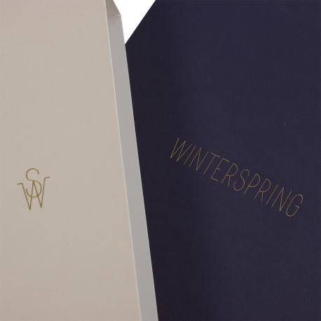 Luxury Printed Paperboard Chocolate Boxes Ref Winterspring