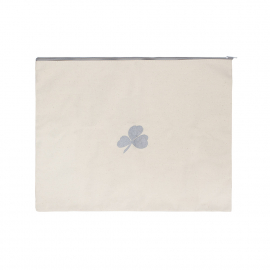 Cotton Bag with Zip for Travel Belongings Ref Aer Lingus
