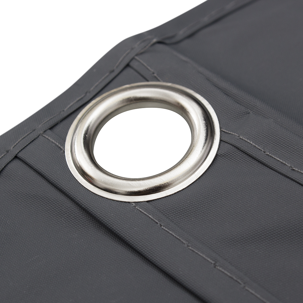 Printed suit covers with metal grommet